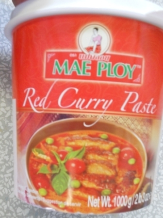 泰国红咖哩*1公斤/ MAEPLOY RED CURRY PASTE*1kg