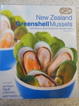 新西兰青口New Zealand Greenshell Mussels