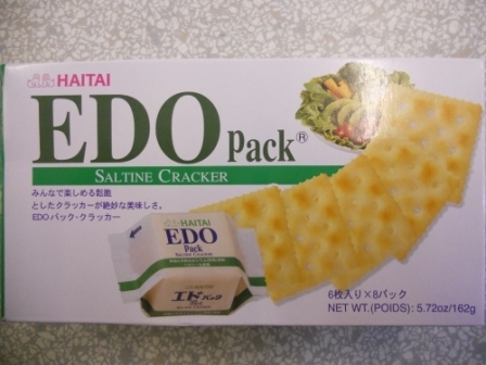 EDO梳打饼干/ Saltine Cracaker *162g