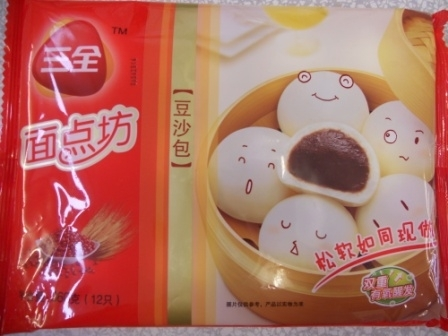 三全豆沙包x360g SQ Red Bean Paste Bun 缺货中