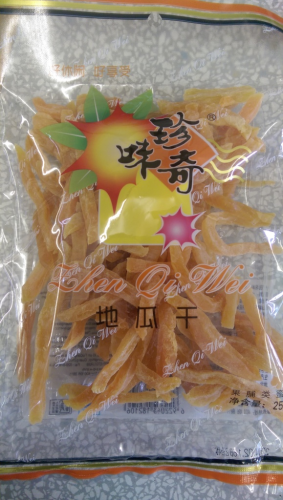 珍奇味地瓜干*250克/ZQW Sweet Potato Strip