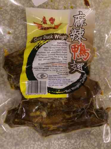 康乐麻辣鸭翅*200克/ Honor Spicy Duck Wings*200g