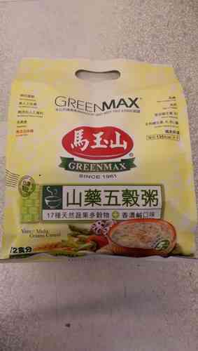 马玉山 山药五谷粥*12*35g/Greenmax - Yam and Multi Grain Cereal