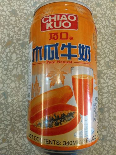 巧口木瓜牛奶*330ml/ CK Papaya Milk Drink*330ml