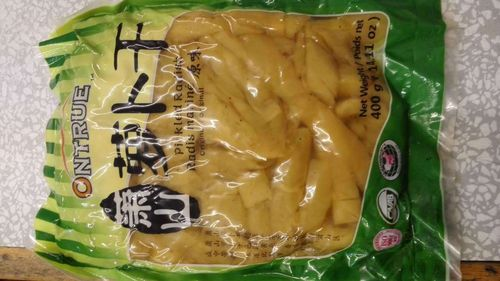 萧山萝卜干 (原味)Onture Pickled Radish -Original x400g