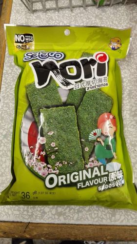 日式厚切海苔-原味 SLC Fried Crispy Seaweed Nori - Original  x36g