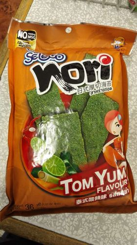 日式厚切海苔-泰式酸辣  SLC Fried Crispy Seaweed Nori - Tom Yum  x36g