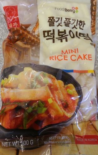 韩国年糕条*500g/Korean Mini Rice Cake*500g