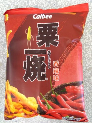 卡乐B粟一烧-香辣 FS Calbee Grill A Corn - Hot & Spicy x80g