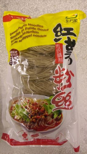红薯粉丝圈粉   Sweet Potato Noodles Round x400g