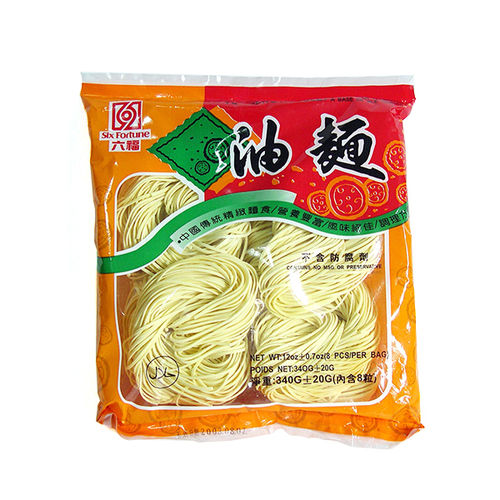 六福油面 340g SF Dried Noodle