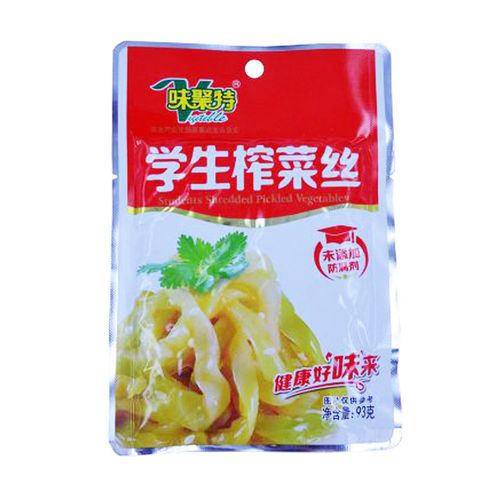味聚特学生榨菜丝93G WJT Student Pickled Vegetable