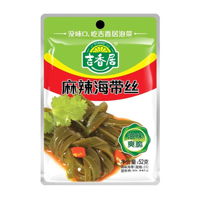 吉香居麻辣海带 52g JXJ Spicy and Hot Shredded Kelp