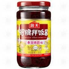海天招牌拌饭酱(大瓶) *300克 HT Spicy Sauce for Rice and Noodle*300g