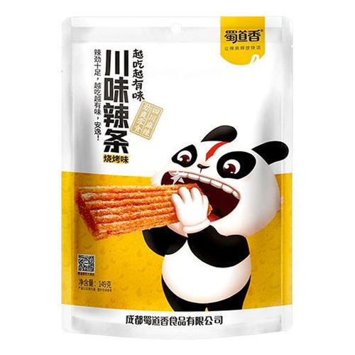 蜀道香川味辣条烧烤味149g Sichuan Gluten Strip Barbecue Flavour