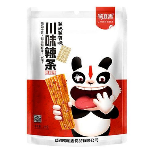 蜀道香川味辣条麻辣味149g Sichuan Gluten Strip Hot Spicy Flavour